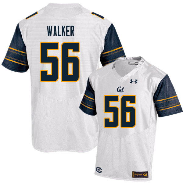 Men #56 Sam Walker Cal Bears UA College Football Jerseys Sale-White
