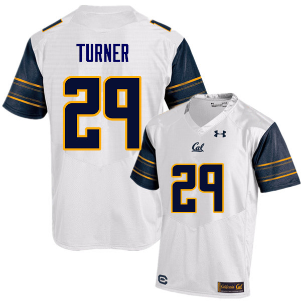 Men #29 Bryce Turner Cal Bears (California Golden Bears College) Football Jerseys Sale-White