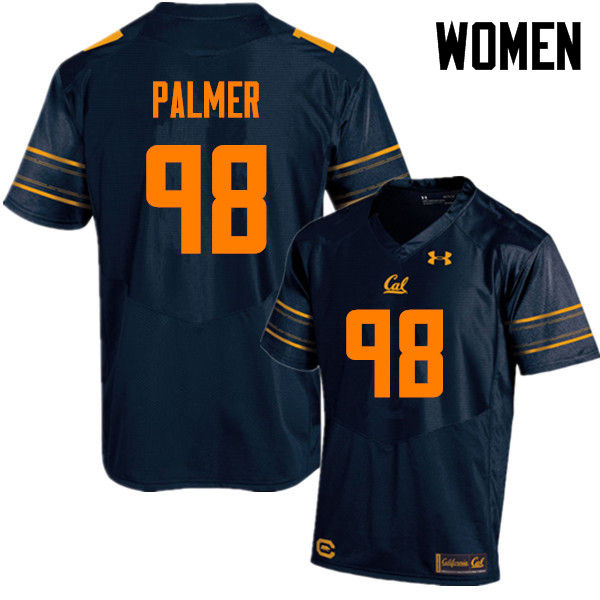 Women #98 Chris Palmer Cal Bears (California Golden Bears College) Football Jerseys Sale-Navy