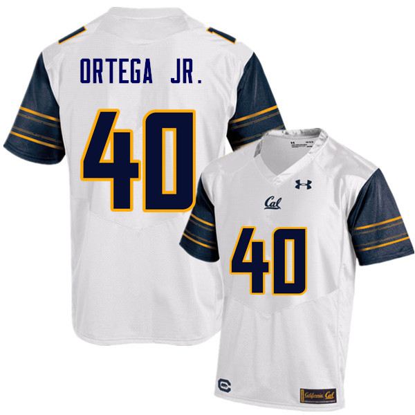 Men #40 David Ortega Jr. Cal Bears (California Golden Bears College) Football Jerseys Sale-White