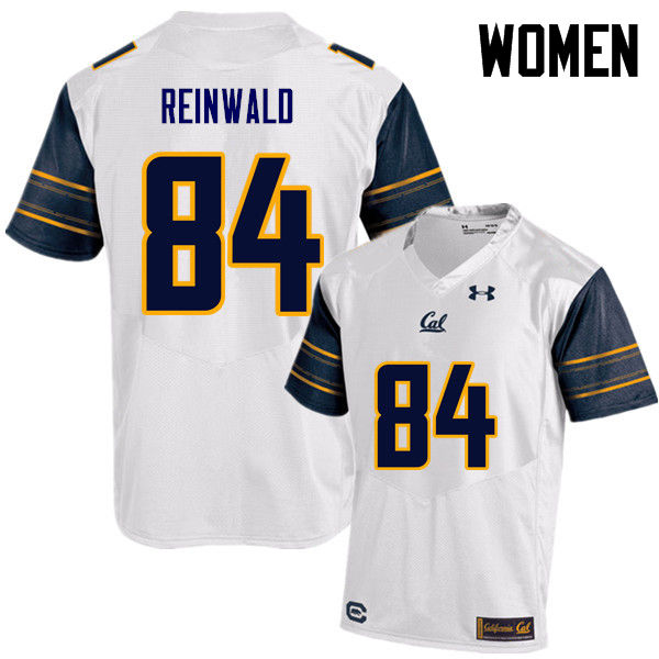 Women #84 Gavin Reinwald Cal Bears (California Golden Bears College) Football Jerseys Sale-White