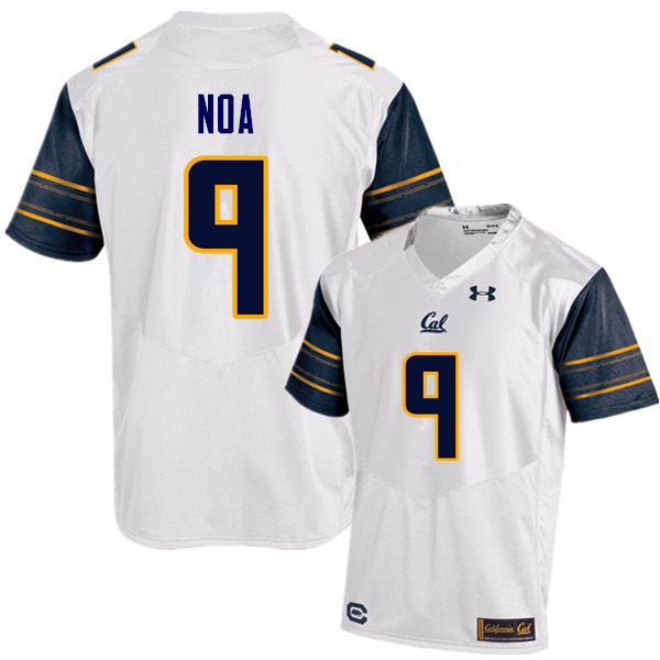 Men #9 Kanawai Noa Cal Bears (California Golden Bears College) Football Jerseys Sale-White