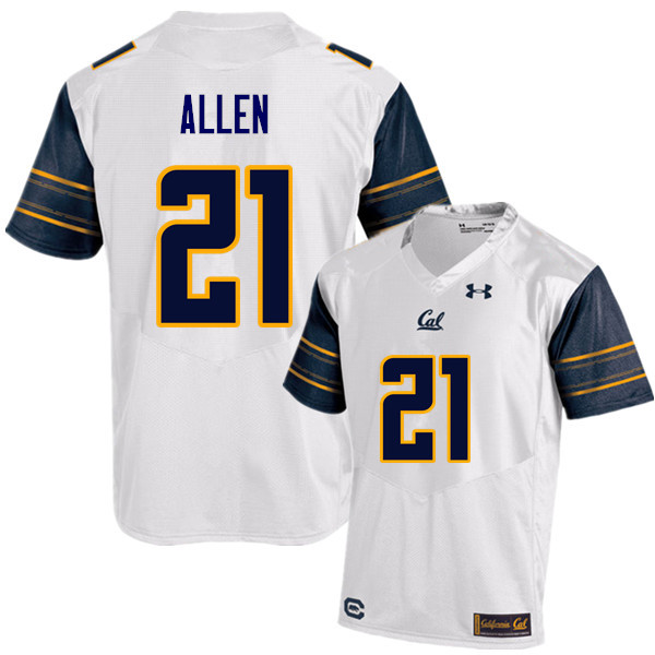 Men #21 Keenan Allen Cal Bears (California Golden Bears College) Football Jerseys Sale-White