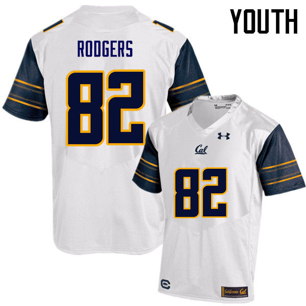 Youth #82 Richard Rodgers Cal Bears (California Golden Bears College) Football Jerseys Sale-White