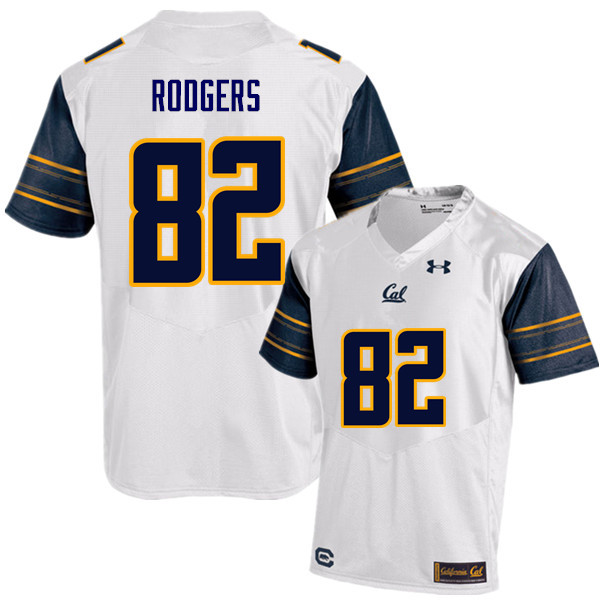 Men #82 Richard Rodgers Cal Bears (California Golden Bears College) Football Jerseys Sale-White