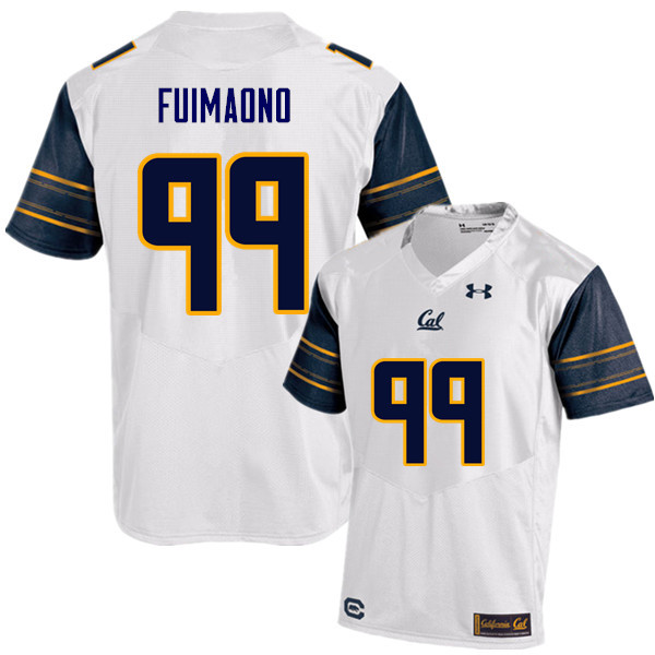 Men #99 Siulagisipai Fuimaono Cal Bears (California Golden Bears College) Football Jerseys Sale-Whit