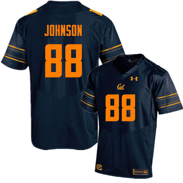 Men #88 Taariq Johnson Cal Bears (California Golden Bears College) Football Jerseys Sale-Navy