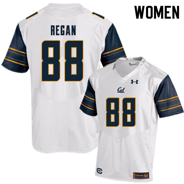 Women #88 Ryan Regan Cal Bears College Football Jerseys Sale-White