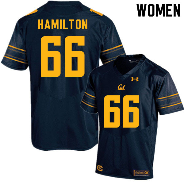 Women #66 Colin Hamilton Cal Bears College Football Jerseys Sale-Navy